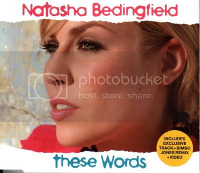 NATASHA BEDINGFIELD - These Words Record