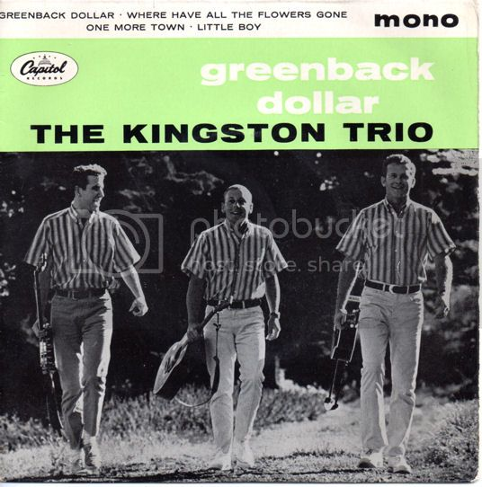 KINGSTON TRIO - Greenback Dollar Ep
