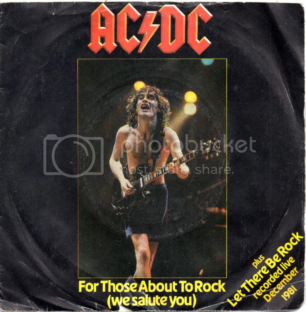 AC/DC - For Those About To Rock / Let There Be Rock