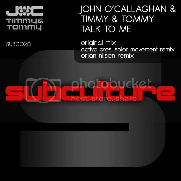 John O'Callaghan & Timmy & Tommy - Talk To Me - MusicLovers
