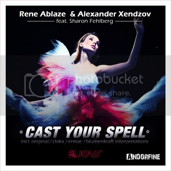 Rene Ablaze & Alexander Xendzov feat Sharon Fehlberg - Cast Your Spell - MusicLovers