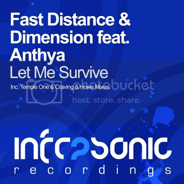 Fast Distance & Dimension feat. Anthya  - Let Me Survive - MusicLovers