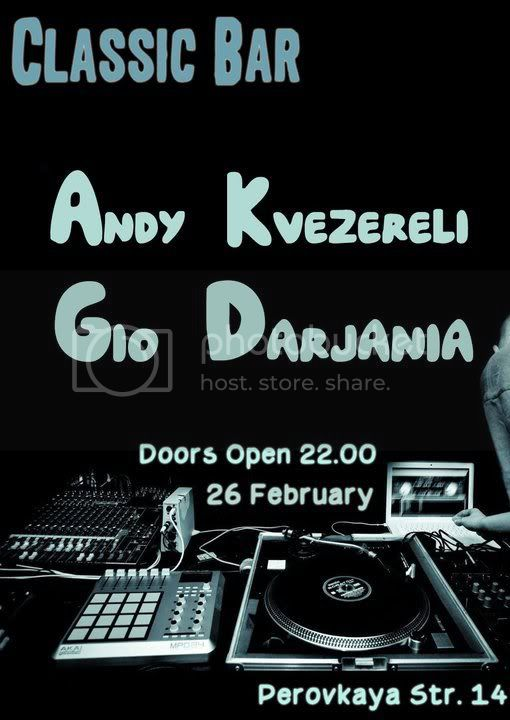 Andy Kvezereli & Gio Darjania @ Classic Bar - MusicLovers